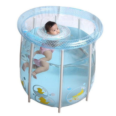 Swimava Compact Home Baby Spa with Starter Ring
