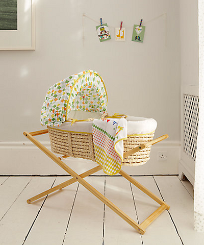 Mothercare Roll Up Moses Basket with Stand