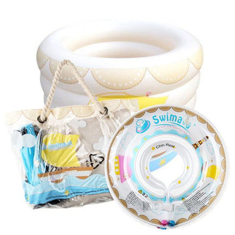 Swimava Deluxe Home Baby Spa with Starter Ring