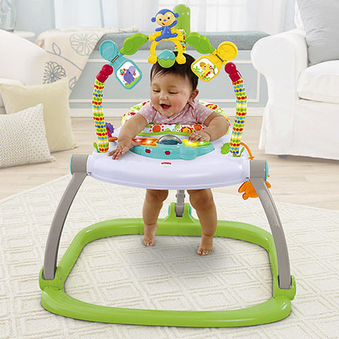 Fisher Price Rainforest Friends Space Saver Jumperoo