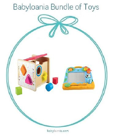 Bundle - of Toys 17 : ELC Wooden Shape Sorter & ELC My First Scribbler