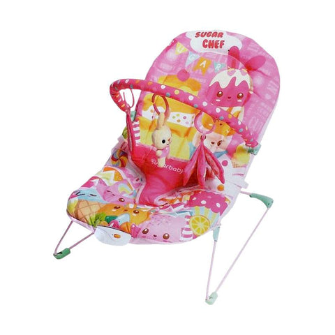 Sugar Baby Deluxe Musical Vibration Bouncer