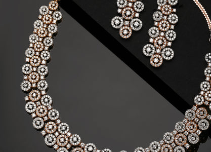 Keeping it on-trend with American Diamonds the new must-have of traditional jewellery