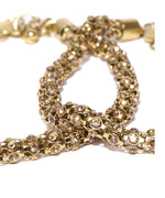 Priyaasi Gold-Toned Stone-Studded Anklets For Women And Girls