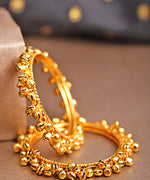 Set Of 2 Gold-Plated Gunghroo Bangles