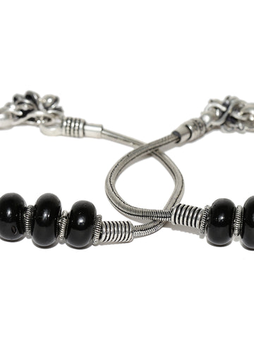 Designer German Silver/Oxidized Anklet/Payal