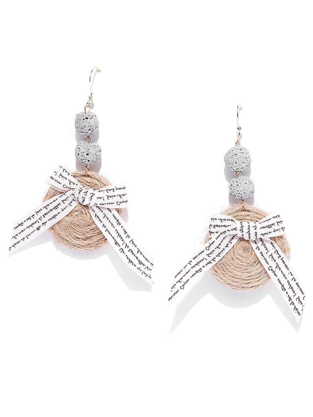 Light Weight Handmade Jute Earrings For Girls & Women