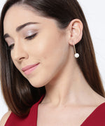 Prita Golden Party Wear Earrings For Girls And Women