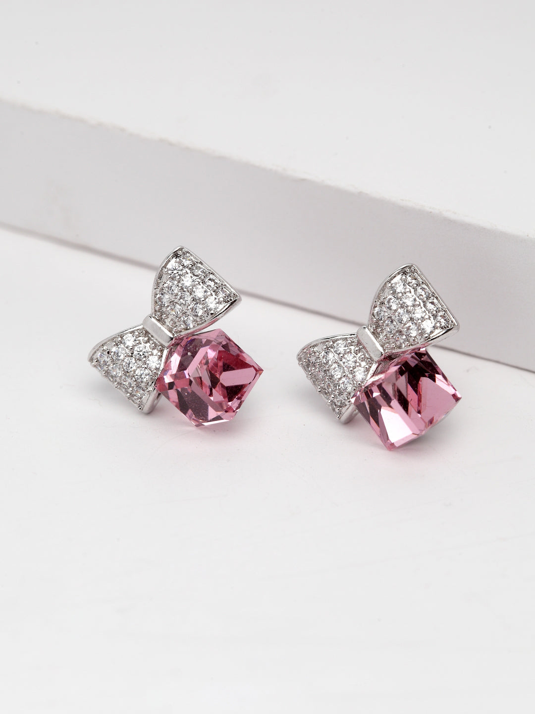 Daily Wear/Office Wear Stylish Bow Drop Earrings For Women & Girls