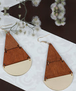 Wooden Earrings For Girls/Women