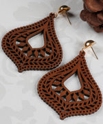 Prita Wooden Earrings For Girls/Women
