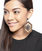 Prita Multilayer Wooden Earrings For Girls/Women