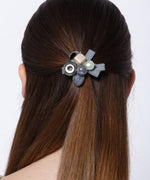 Women Fashion Hair Accessories Ellipse Acrylic Gemstone Hair Clip