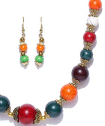 Priyaasi'S Designer Handicrafted Handmade Evergreen Acrylic Beaded Necklace Set For Girls And Womens