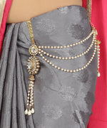 Traditional Gold Tone Waistbelt For Women And Girls