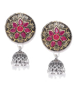 Priyaasi Sparkling Gold Plated Drop Earring For Women And Girls