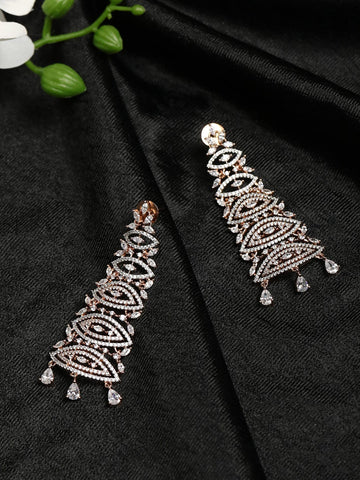 American Diamond Drop Earring