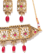 Priyaasi's Rajwada Style Hasuli/Choker Wedding Necklace Set