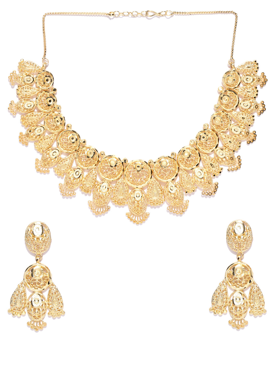 Gold Plated Jewellery Set