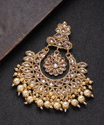 Classic Floral Shape Gold Plated Chabi Challa/Pasa For Women And Girls