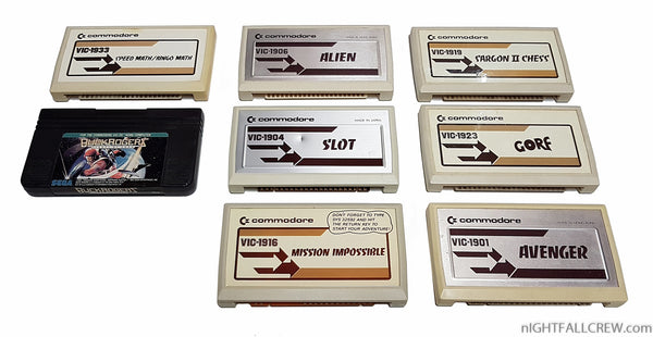 Commodore VIC-20 Cartridges