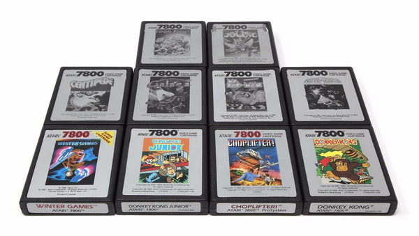 Atari 7800 Cartridges