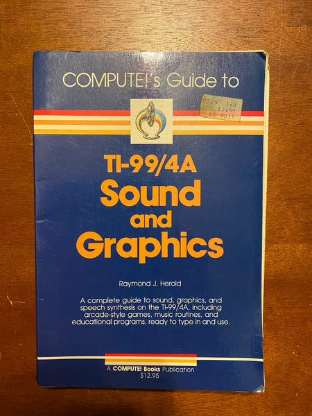 Compute's Guide to TI-99/4A Sound and Graphics