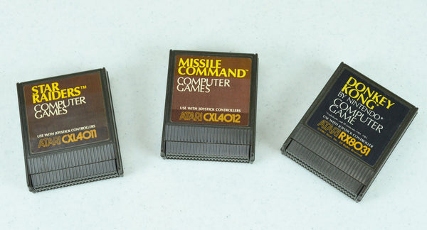 Atari 8-Bit Cartridges