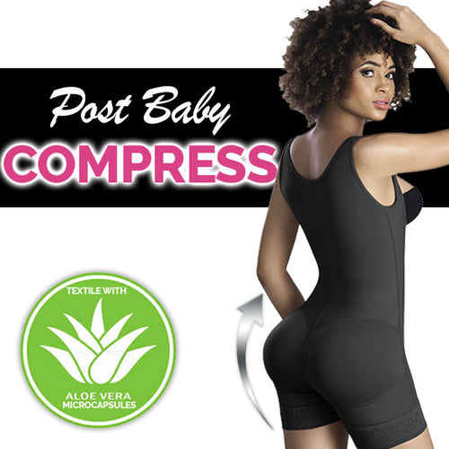2016 Paula Post Partum/Surgical Compression Bodysuit | Everyday Wear Shapewear Melibelt Fajas