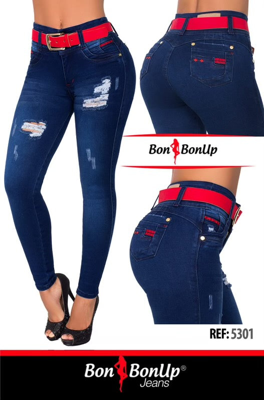BOON BON UP COLOMBIAN BOOTY🍑 LIFTING JEANS  REF 5301