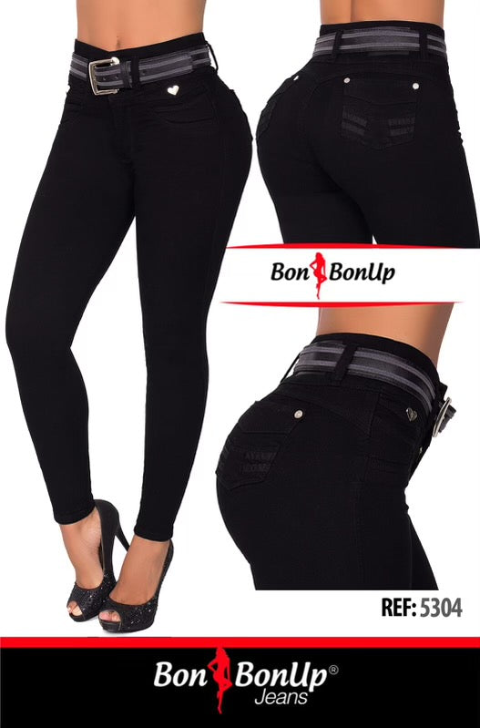 BON BON UP BOOTY🍑 LIFTING COLOMBIAN JEANS REF 5304