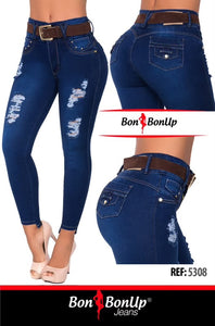 BON BON UP COLOMBIAN BOOTY🍑 LIFTING JEANS REF 5308