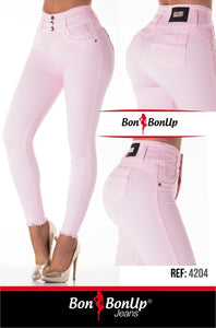 Bon Bon Up Booty 🍑 Lifting Jeans - Jeans Levanta Cola Ref; 4204