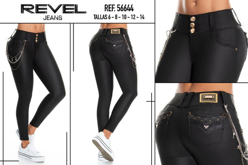 Revel Up Colombian Booty🍑 Lifting Jeans - Jeans Colombianos Levanta Cola Ref; 56644