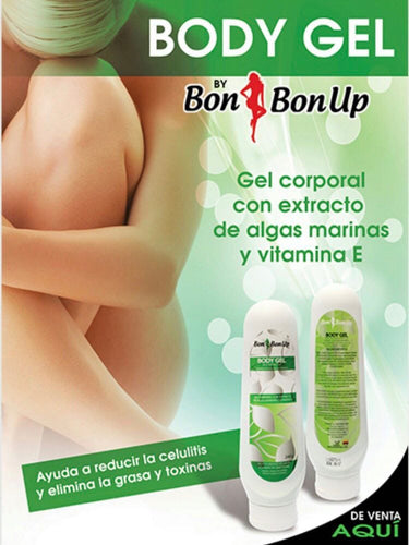 Bon Bon Up Body Gel - Gel Corporal con Extracto de Algas Marinas y Vitamina E