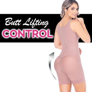 BUTT 🍑 LIFTER - BELLY LIFTER/CONTROL- Tummy Lift/Lower Tummy - FIRM COMPRESSION EVERYDAY WEAR GIRDLE HIGH BACK BODYSUIT - WIDE STRAP | MELIBELT FAJAS LOTO 2021