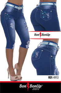 BonBonUp Booty🍑 Lifting Jeans - Ref; 4913