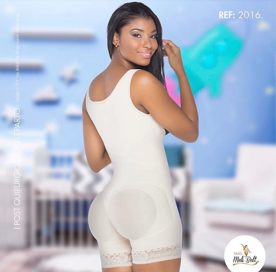 REF 2016 Post Partum- C Section/Post Surgical Compression Bodysuit - TT/360/BBL | Everyday Wear - Booty 🍑 Lifter - Molding Shapewear - Fajas