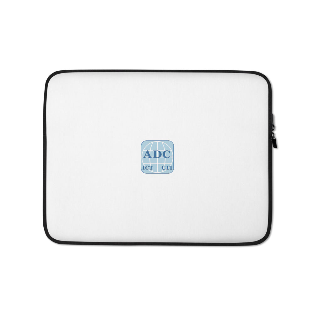ADC - White Laptop Sleeve