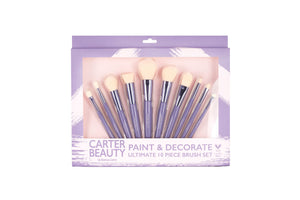 PAINT & DECORATE 10-PIECE BRUSH SET