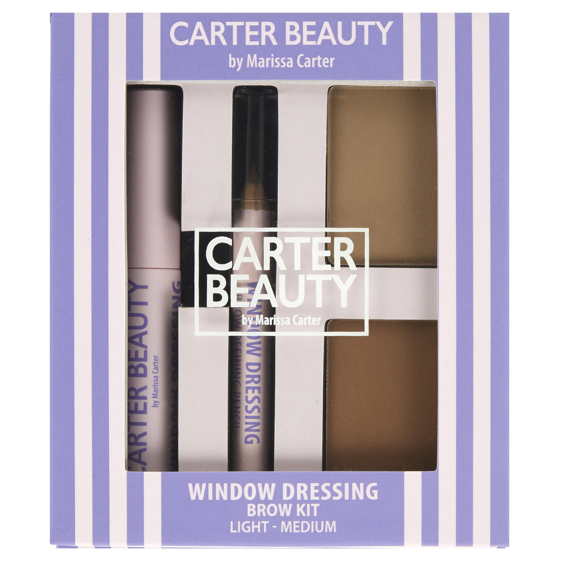 Window Dressing Brow Kit – Light to Medium