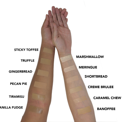 Half Measure Caramel Chew Dewy Foundation
