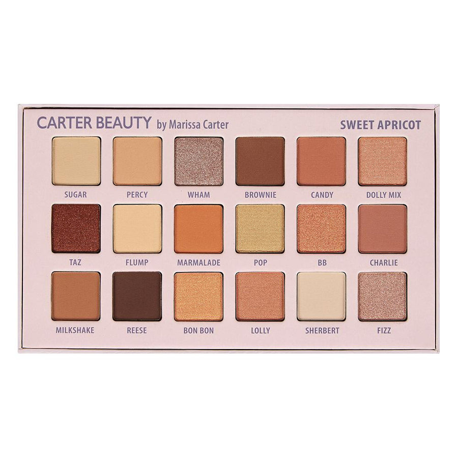 Sweet Apricot 18-shade Palette