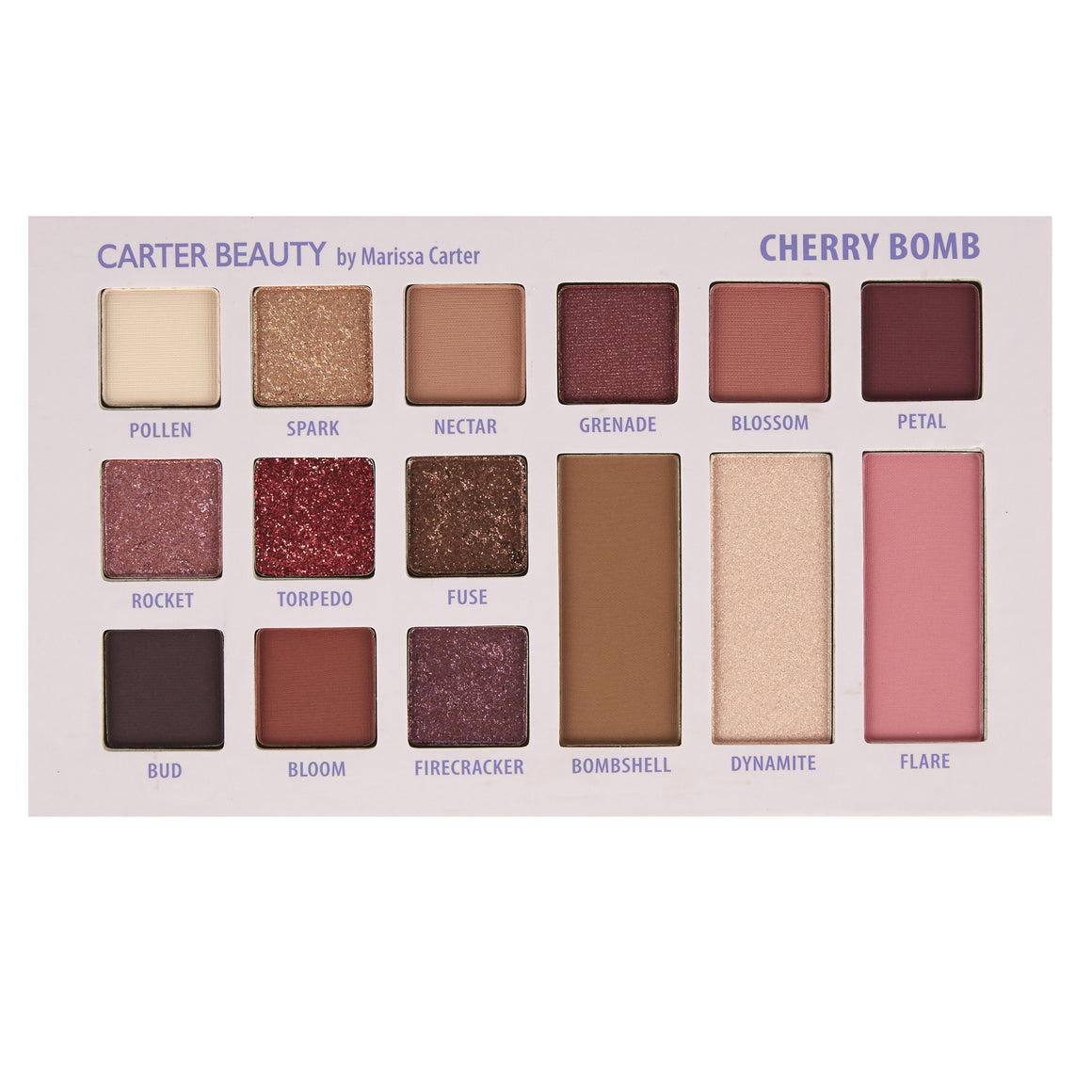 Cherry Bomb- 18 Shade Mixed Palette