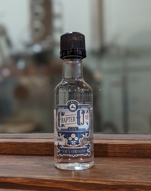 Chapter One Navy Strength Gin - 50ml short story