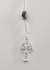 Ahenny High Cross: Sterling Silver with Amethyst