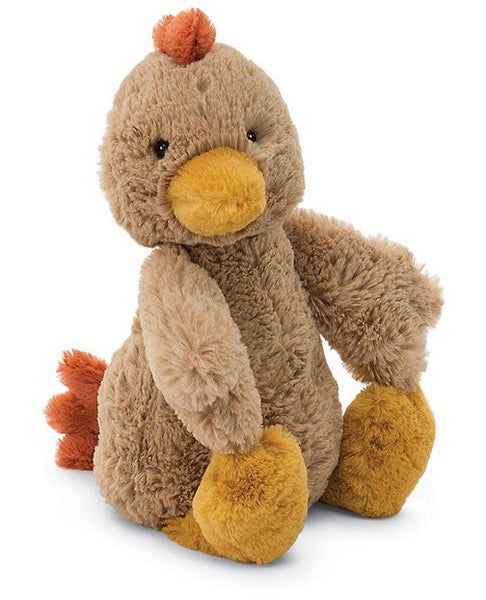 Jellycat Bashful Rooster, Medium