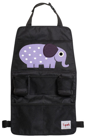 3 Sprouts Backseat Organizer - Elephant
