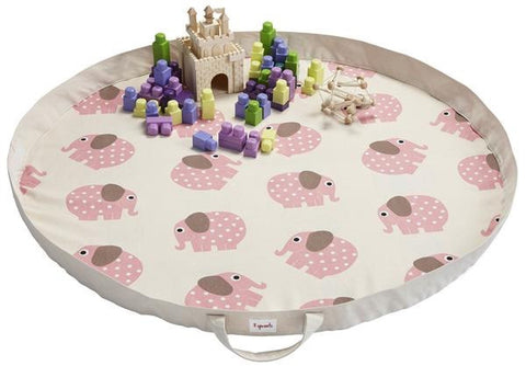 3 Sprouts Play Mat - Elephant