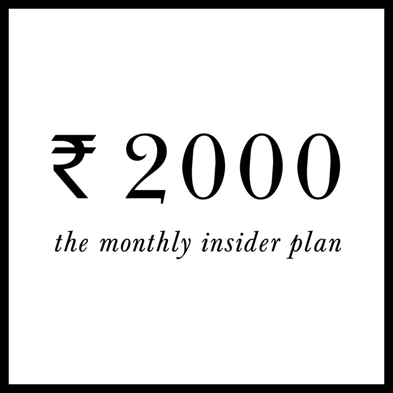 Monthly Insider Plan